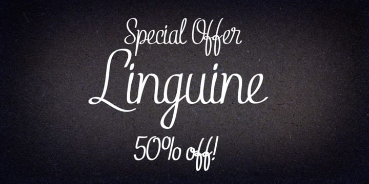 111672 - Linguine (25% discount, from $14.96)