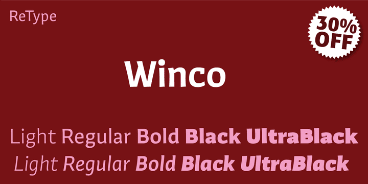 114087 - Winco (30% discount, from 46,19€)