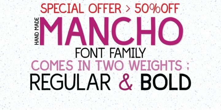 105413 - Mancho (family $16.00)