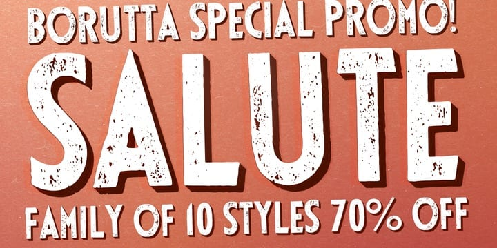 111989 - SALUTE (70% discount, from $4.50)