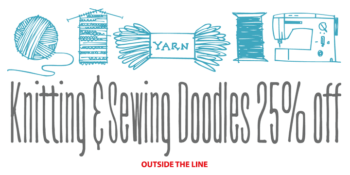 114143 - Knitting & Sewing Doodles ($21.75)