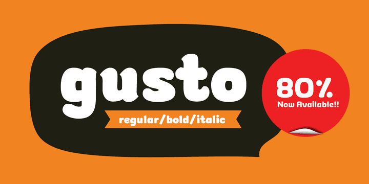 114800 - Gusto (from $5.00)
