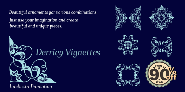 115804 - Derriey Vignettes (from $1.55)