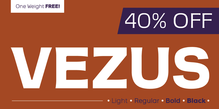 116128 - Vezus (40% discount, from $0, family $48.60)