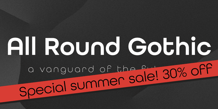 116650 - All Round Gothic (from $19.60)