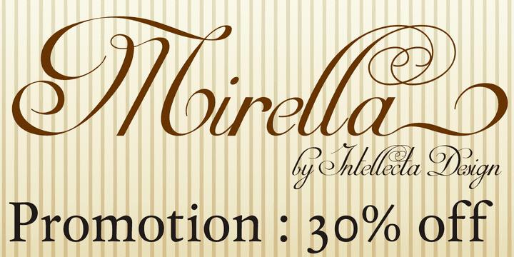 117003 - Mirella Script (from $37.03)