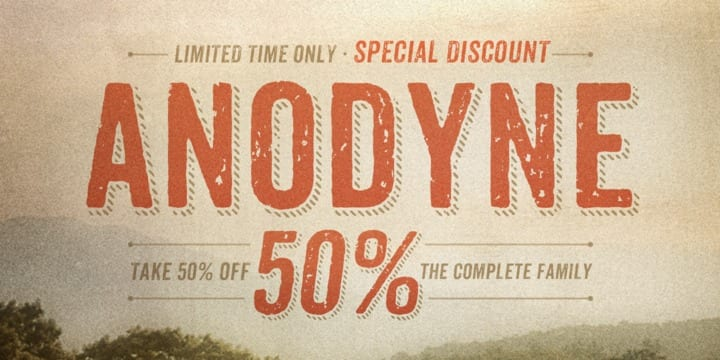 124913 - Anodyne (50% discount, from 0,00 €, complete 13,50 €)