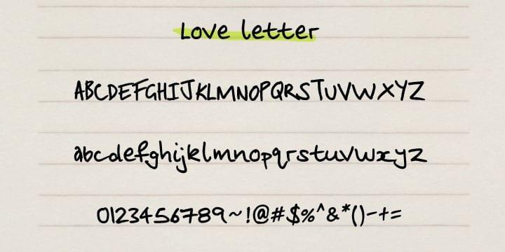 50942 - Love Letter ($6.30)