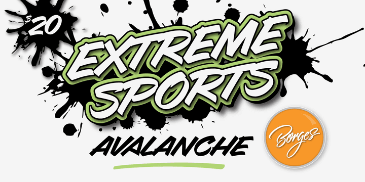 96964 - Avalanche (20% discount, from $20.00)