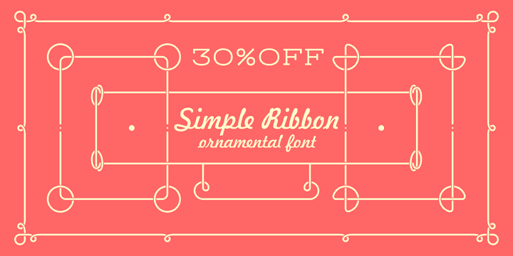 106064 - Simple Ribbon (30% discount, 10,49€)