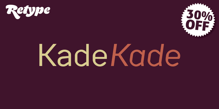 107225 - Kade (30% discount, from 34,29€)