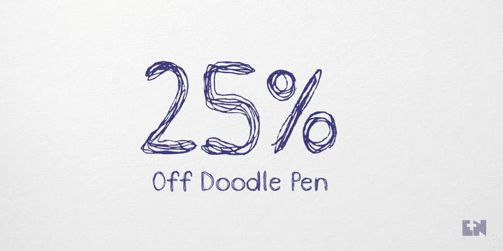 113881 - Doodle Pen (25% discount, 11,24€)