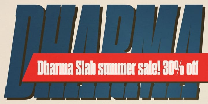116647 - Dharma Slab (30% discount, from 9,79€)