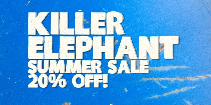 117920 - Killer Elephant (20% discount, from 13,59€)