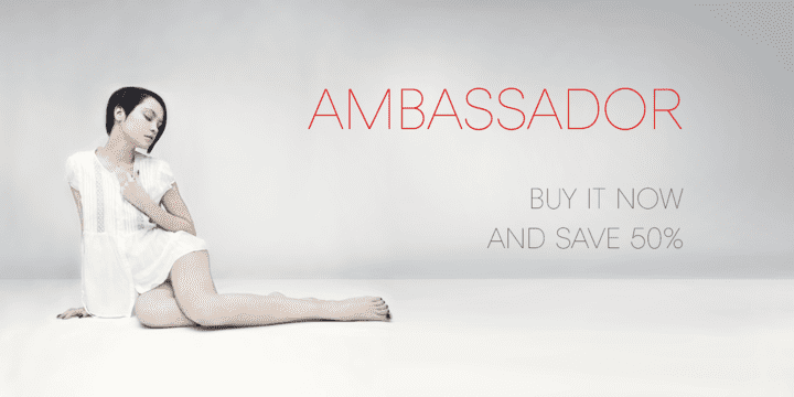 120654 - Ambassador (50% discount, from 14,50€)