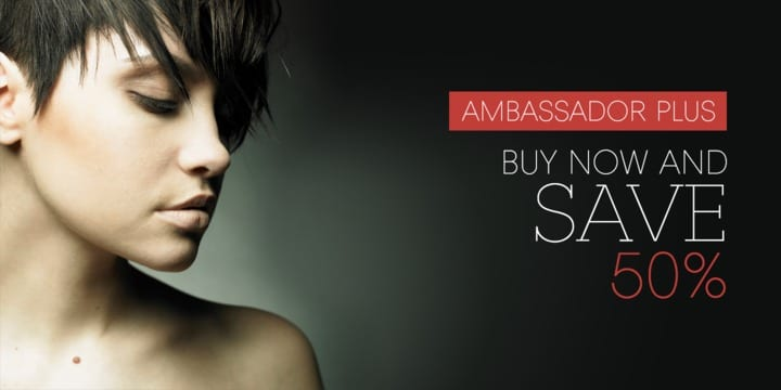 120655 - Ambassador Plus (50% discount, from 15,50€)