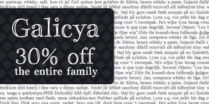 96030 - Galicya (30% discount, from $18.20)