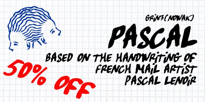 96385 - Pascal (50% discount, $13.00)