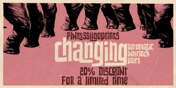 102215 - Changing (20% discount, 15,99€)
