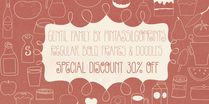 113082 - Gentil (30% discount, from 5,59€)