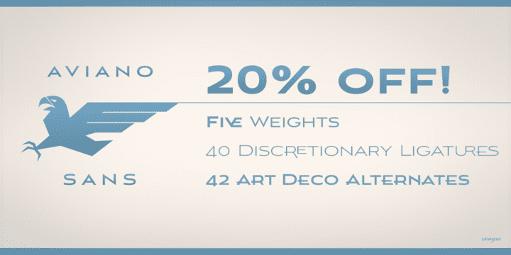 117365 - Aviano Sans (20% discount, from 14,39€)