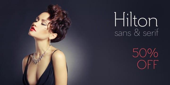 120683 - Hilton Serif (50% discount, 16€)