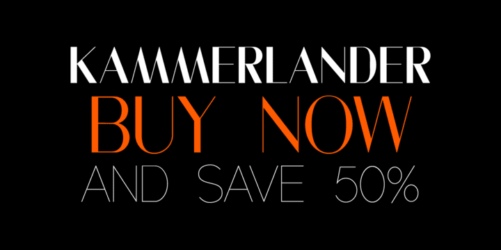 120684 - Kammerlander (50% discount, from 10,50€)