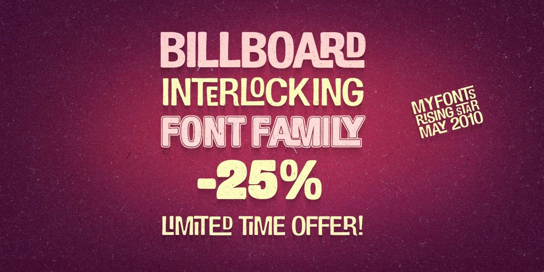 122179 - Billboard (family $29.96)