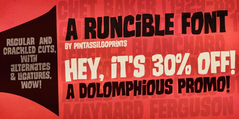 122247 - Runcible (30% discount, from 13,99€)