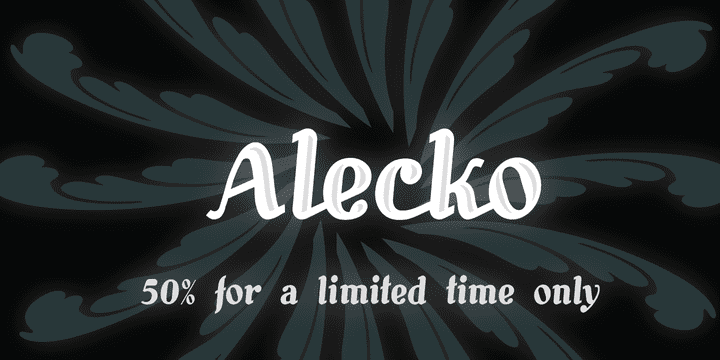 98423 - Alecko (50% discount, from 0€)