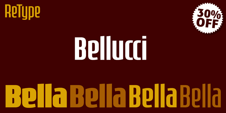 114089 - Bellucci (30% discount, from 25,89€)