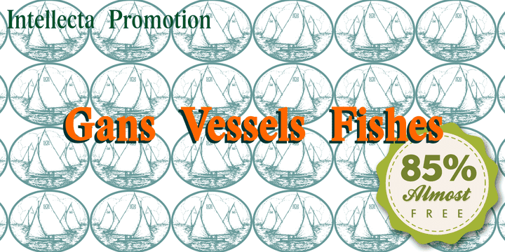 123658 - Gans Vessels Fishes ($2.99)