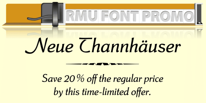 123721 - Neue Thannhaeuser (20% discount, from $32.00)