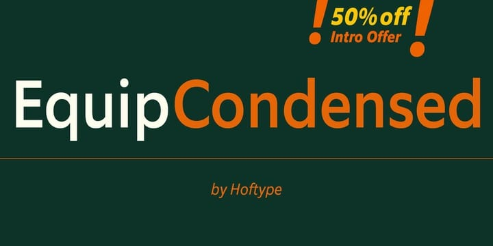 124329 - EquipCondensed (50% discount, from $0, family $99.00)