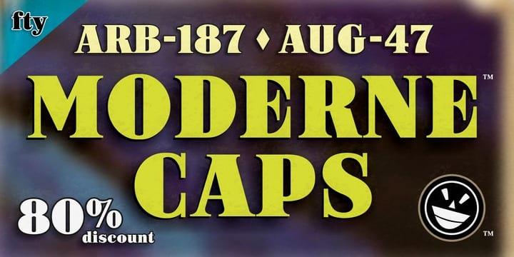 125315 - ARB-187 Moderne Caps AUG-47 (80% discount, $5.00)