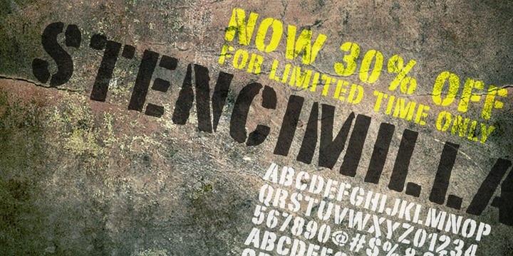 96032 - Stencimilla (30% discount, 9,09€)