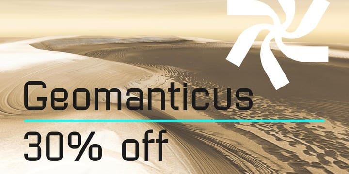 100546 - Geomanticus (30% discount, from 13,29€)