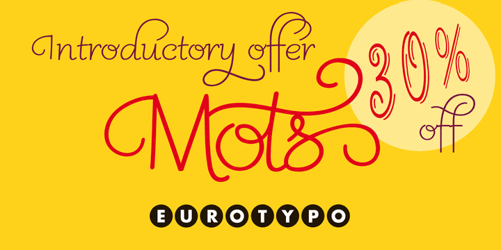 123912 - Mots (30% discount, from $12.60)