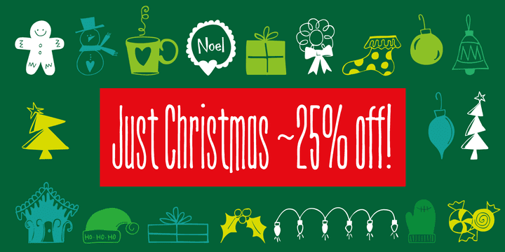 124233 - Just Christmas (25% discount, $21.75)