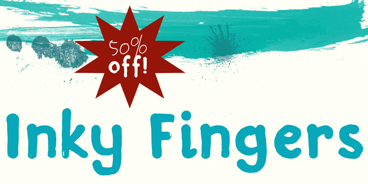 126989 - Inky Fingers (50% discount, $10.00)