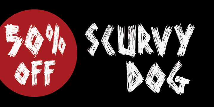 126991 - Scurvy Dog (50% discount, from $7.50)
