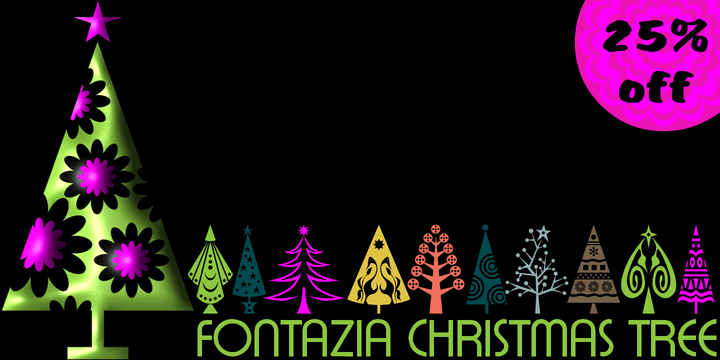 127364 - Fontazia Christmas Tree (25% discount, $18.00)