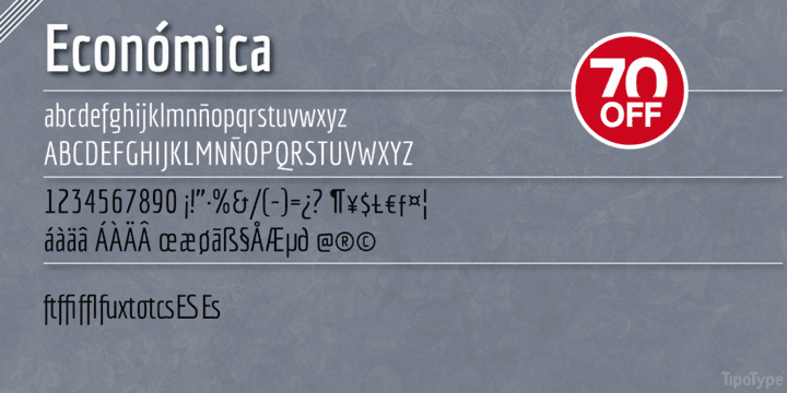 128135 - Economica (70% discount, from 4,80€, family 14,70€)