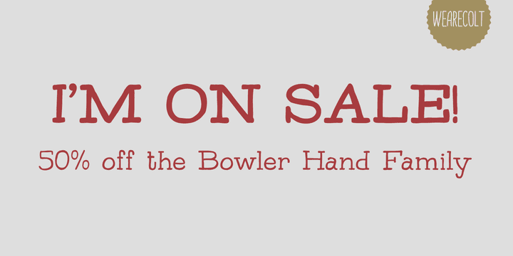 114338 - Bowler Hand (50% discount, from 7,50€)