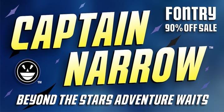 125063 - CFB1 Captain Narrow (90% discount, $2.00)