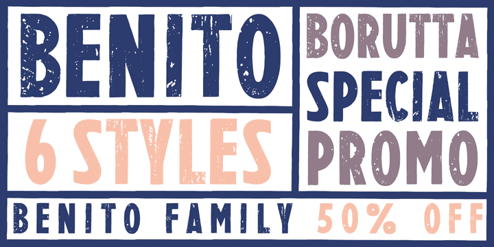126825 - BENITO (50% discount, from 6€)
