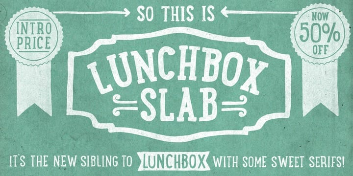 126998 - Lunchbox Slab (50% discount, from $12.50)