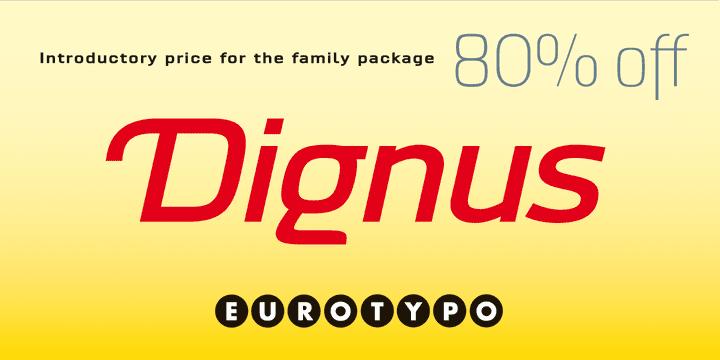 129345 - Dignus (80% discount, family $76.00)