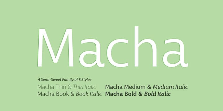 94531 - Macha (25% discount, from 8,24€)