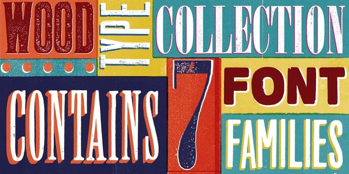 95603 - WOOD TYPE COLLECTION (60% discount, family 32,40€)